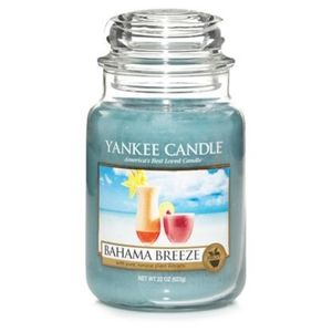 Yankee Candle Accents - Yankee Candle Bahama Breeze Large Jar Candle New